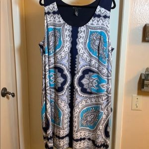 INC SHIFT DRESS SIZE 1x